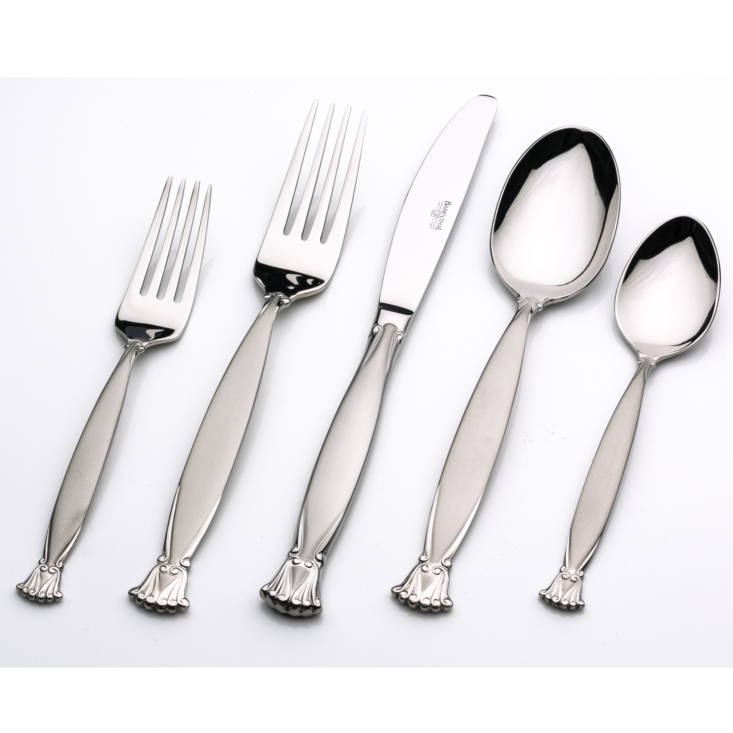 Barenthal Satine 1810 Stainless Steel Flatware Set Service For 12